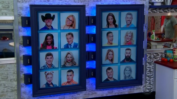 Big Brother 19 memory wall