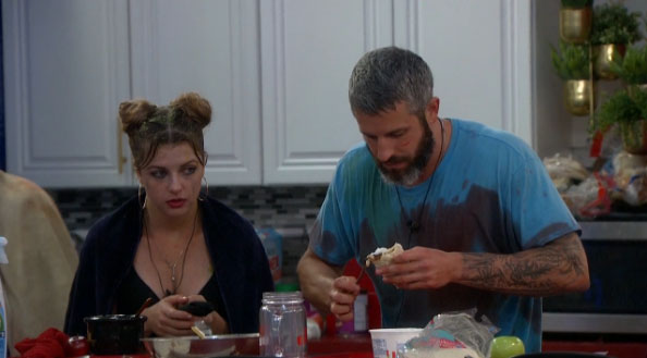 Raven and Matthew on Big Brother 19