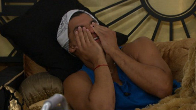Josh tries not to watch on BB19