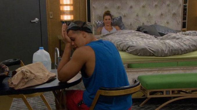 Josh is overwhelmed on Big Brother 19