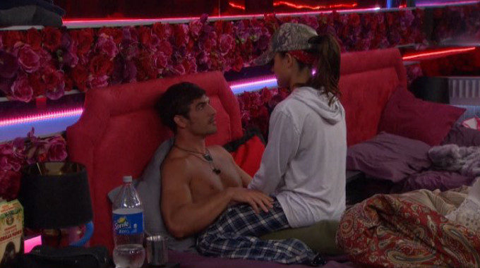 Jessica and Cody together on Big Brother 18