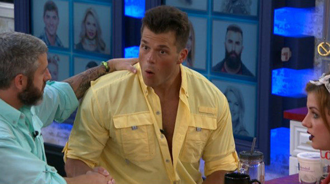 Mark is surprised on Big Brother 19