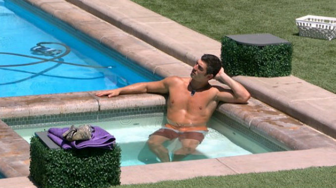 Cody Nickson enjoys his last days on BB19