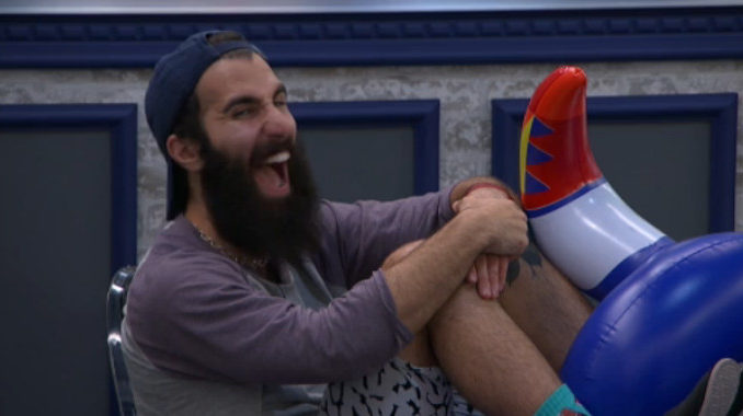 Paul Abrahamian is worked up on Big Brother 19