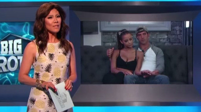 Julie Chen hosts BB19 Week 5 live show