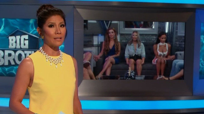 Julie Chen hosts BB19 Week 6 eviction