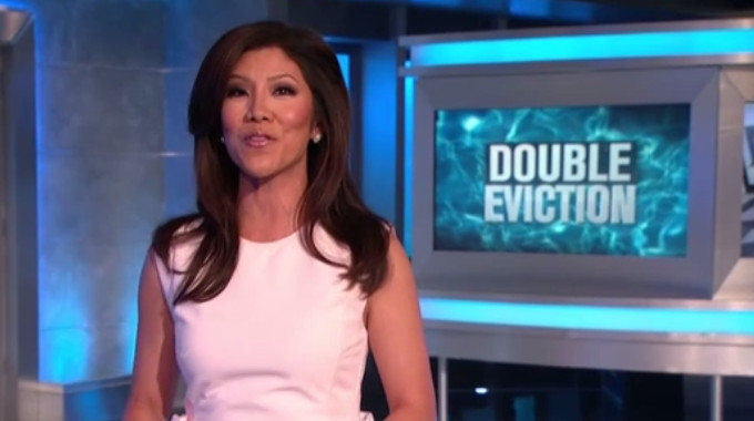 Julie Chen hosts Big Brother 19 Double Eviction night