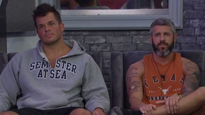 Mark and Matthew on the Block for Big Brother 19