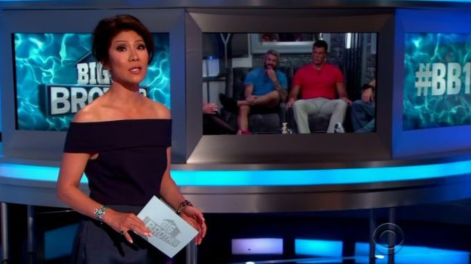 Julie Chen hosts Big Brother 19 Week 8 Eviction