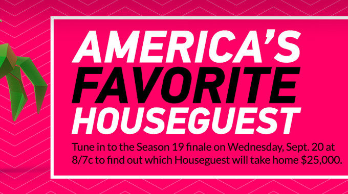 America's Favorite HG for Big Brother 19