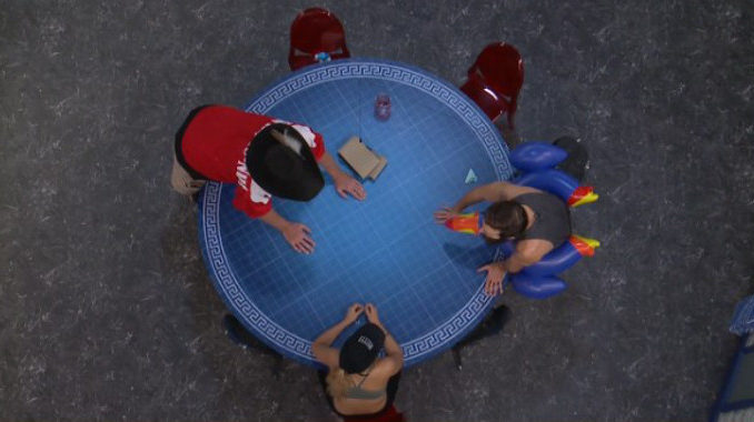 Paul leads the Houseguests on Big Brother 19