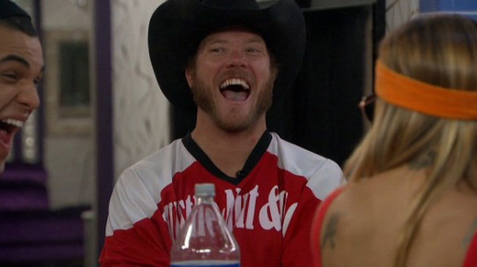 Jason Dent laughs it up on Big Brother 19
