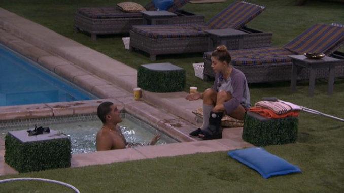 Josh talks with Christmas on Big Brother 19