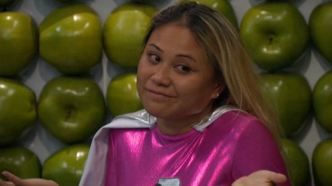 Alex shrugs off her nomination on BB19