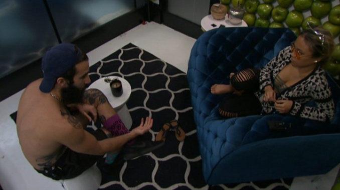 Paul tells Alex the bad news on BB19