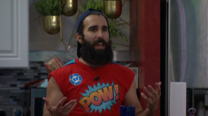 Paul goes POW on Big Brother 19