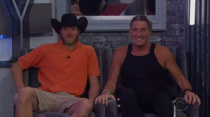 Jason Dent and Kevin Schlehuber on the BB19 Block