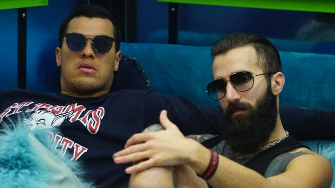 Paul Abrahamian with Josh Martinez on Big Brother 19