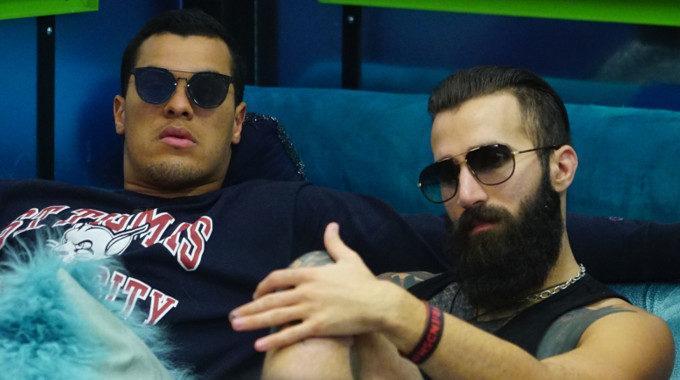 Paul Abrahamian with Josh Martinez on Big Brother 19