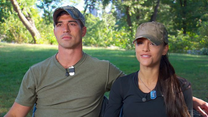 Jessica and Cody on The Amazing Race