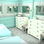 Celebrity Big Brother bedrooms 04