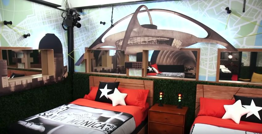 Celebrity Big Brother bedrooms 07