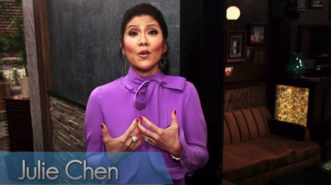 Julie Chen Celebrity Big Brother house tour