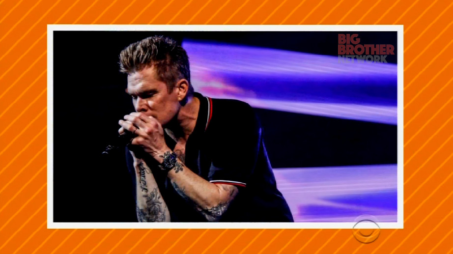 Mark mcgrath celebrity big brother big brother network for Mcgrath s fish house coupons