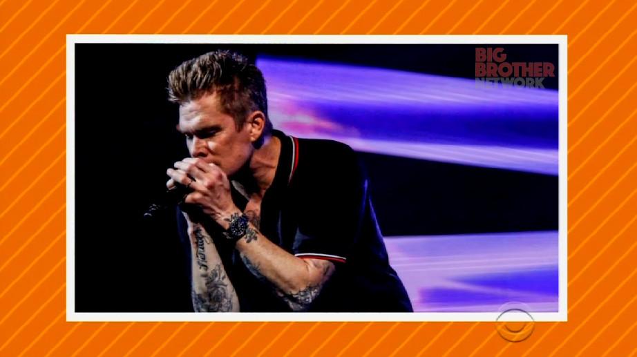 Mark McGrath on Celebrity Big Brother