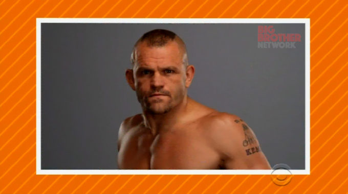 Chuck Liddell on Celebrity Big Brother