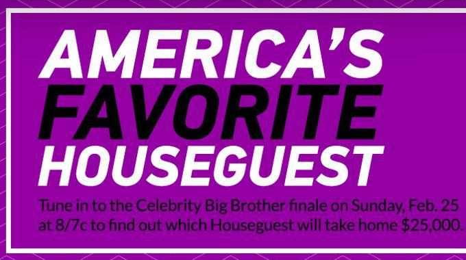 America's Favorite HG on Celebrity Big Brother