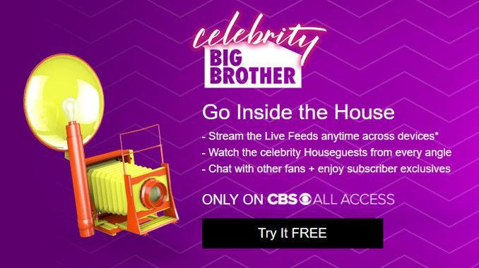 Celebrity Big Brother Live Feeds promo