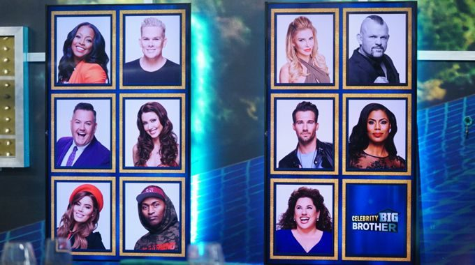 Memory Wall on Celebrity Big Brother Round 2