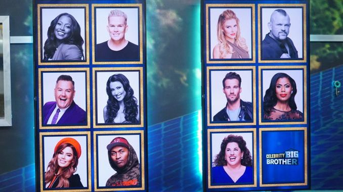 Memory Wall in Round 4 of Celebrity Big Brother 2018