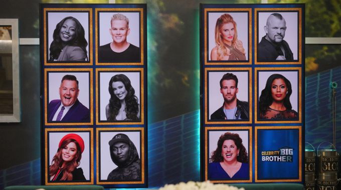 Celebrity Big Brother Memory Wall Round 5