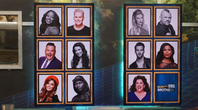 Memory Wall on Celebrity Big Brother round 6