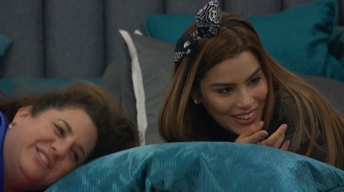 Marissa and Ari on Celebrity Big Brother