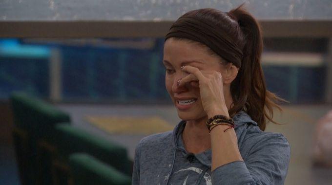 Shannon Elizabeth tears up on Celebrity Big Brother