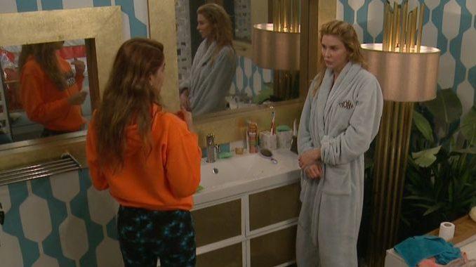 Ari and Brandi talk targets on Celebrity Big Brother