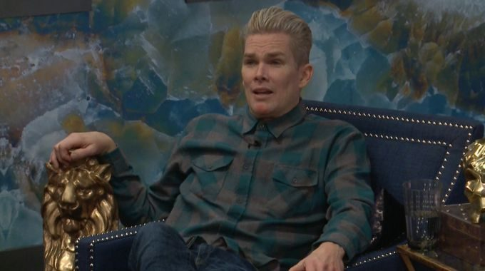 Mark prepares his next move on Celebrity Big Brother