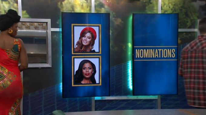 Nominations on the Memory Wall for Celebrity Big Brother Round 6