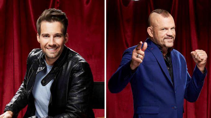 James Maslow vs Chuck Liddell on Celebrity Big Brother