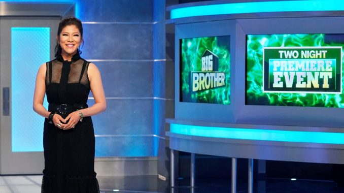 Julie Chen on Big Brother 20 premiere