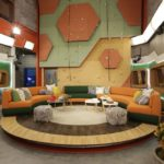 Big Brother 20 House - living room