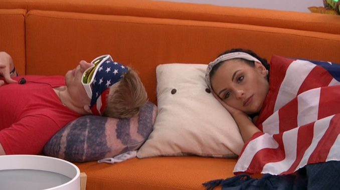 Scottie and Rachel get Fourth of July festive on Big Brother 20