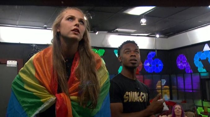 Haleigh and Swaggy on BB20