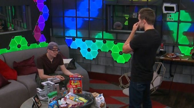 Scottie and Winston on Big Brother 20