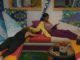 Bayleigh pets Tyler on Big Brother 20
