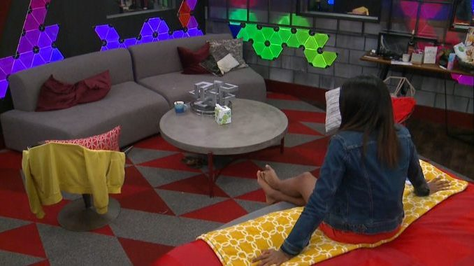 Bayleigh sits alone on Big Brother 20
