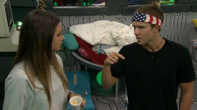 Angela and Tyler on Big Brother 20